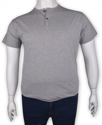 ZegSlacks - %100 Pamuk Penye Düğmeli T-shirt (1202)