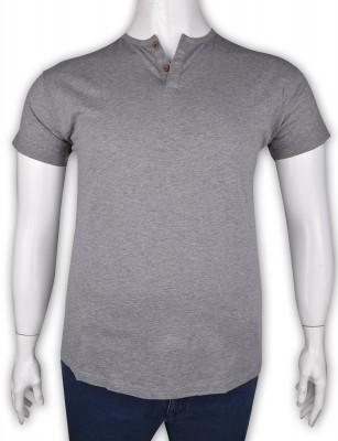 ZegSlacks - %100 Pamuk Penye Düğmeli T-shirt (2091)