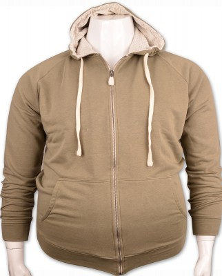 ZegSlacks - %100 PAMUK Kapişonlu Sweatshirt (4276)/A.Yeşil