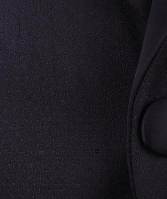 ZegSlacks - Siyah Dokulu DAMATLIK (ceket+pantalon)