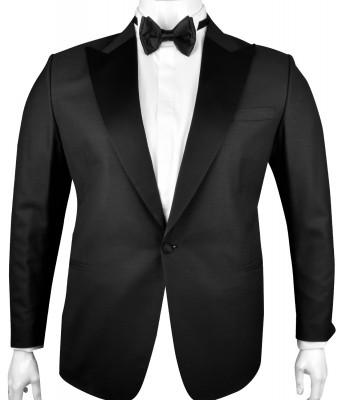Siyah Dokulu DAMATLIK (ceket+pantalon) - Thumbnail