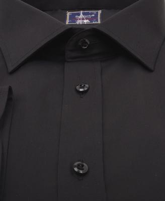 ZegSlacks - %100 Pamuk Klasik gömlek / Siyah (gml2940)