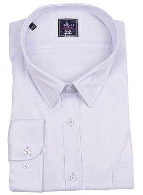 ZegSlacks - %100 Pamuk Klasik Gömlek (zgml0118)/ Açık Gri
