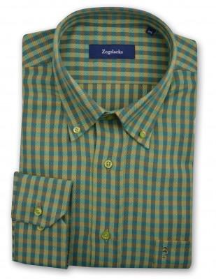 ZegSlacks - %100 Pamuk Kalın Kışlık Spor gömlek ( 2840 )