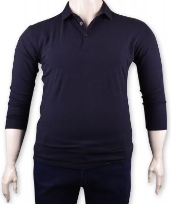 ZegSlacks - Lacivert Piquet Polo Yaka Sweatshirt(psw4132)