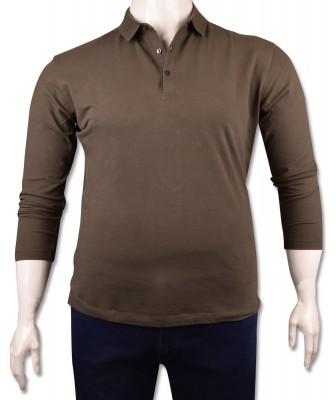ZegSlacks - Haki Piquet Polo Yaka Sweatshirt(psw4135)