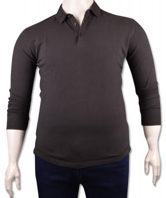 ZegSlacks - Füme Piquet Polo Yaka Sweatshirt (psw4136)