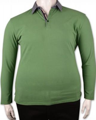 ZegSlacks - Yeşil Piquet Polo Yaka Sweatshirt (psw4341)