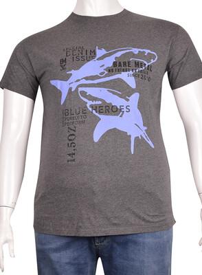 ZegSlacks - Sıfır Yaka Baskılı T-Shirt (BKT0319)