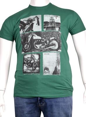 ZegSlacks - Sıfır Yaka Baskılı T-Shirt (BKT0285)