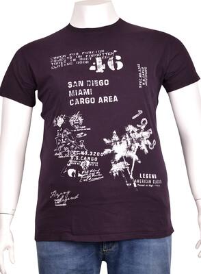 ZegSlacks - Sıfır Yaka Baskılı T-Shirt (BKT0301)
